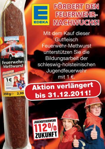 """Bild - """"Feuerwehr-Mettwurst"""" gibt es bis Jahresende"""
